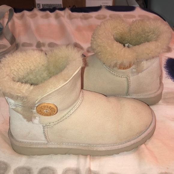 Perfekt Damen Ugg Schuhe Bailey Button Ii Winter Stiefel